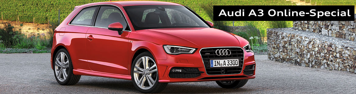 audi a3 online special autohaus rudolph gmbh merseburg. Black Bedroom Furniture Sets. Home Design Ideas