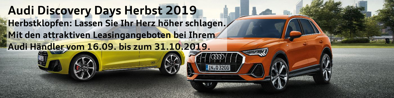 Audi Disocvery Days Herbst 2019