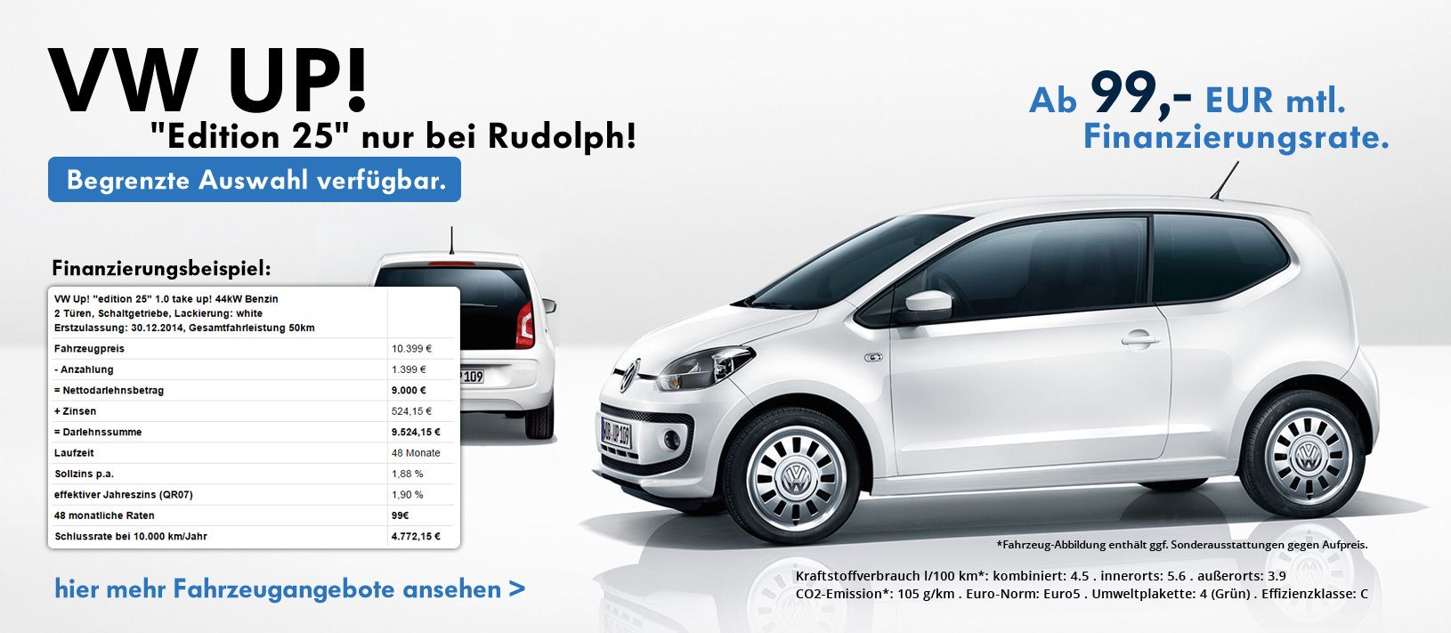 VW Up! 25 Edition